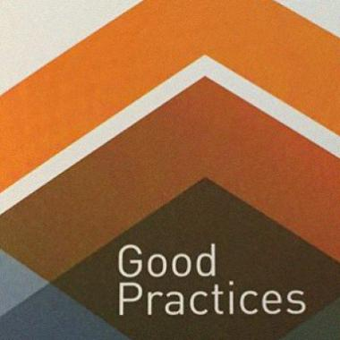 "Cultura 21 - Brochure/Poster ""Good Practices"" - Mosaic image"